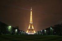 Wand mit Blick auf Paris